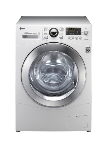 LG 1480YD 1400rpm 8/6kg Direct Drive Washer Dryer White