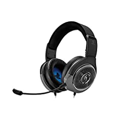 Clear and balanced stereo sound using powerful 50 millimeter drivers Flexible and removable boom microphone with noise and echo canceling technology Easy to access in line volume and mute control for quick adjustments during game play Extra plush ear...