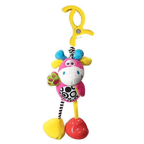 Hemore Baby Products 1 pieza beb/é tira de golpes para colgar carrito de beb/é carrito de cama cochecito de peluche juguete colgante lindo le/ón