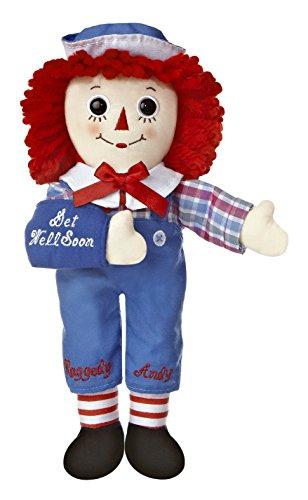 Aurora World Raggedy Andy Get Well Soon Doll, 10