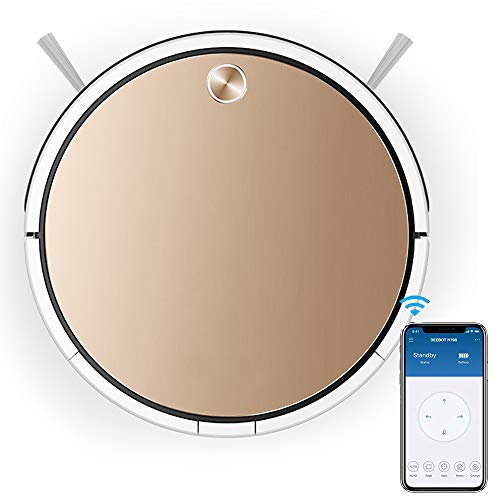 Buy Bargain WISEERP Robot Vacuum Cleaner - Wi-Fi Connected App Connect, Auto Self-Charging, Drop Sen...