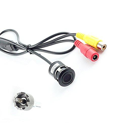 Cocar Auto Rückfahrkamera Sicherung Cam Stoßstange Lochbohrung 18mm Mount Universal Fit Parkplatz Unterstützung Rasterlinien