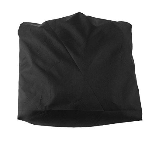 nbvmngjhjlkjlUK Housse de Chaise de Plage étanche de Plus Grande Taille Housse de Chaise Noire en Polyester Oxford 420D Housse de Chaise de Plage étanche à la poussière (Noire)