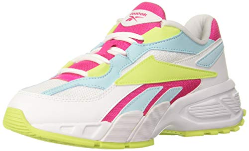 Reebok Classics Women's Evzn White/PROPNK/NEOLIM Running Shoe-5 UK (FX0425)