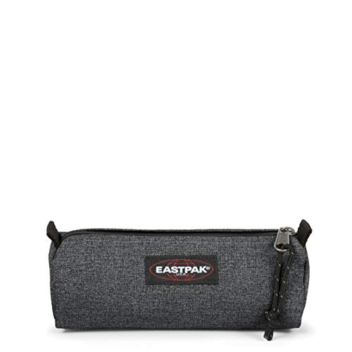 Eastpak Benchmark Single Estuche, 21 cm, Gris (Black Denim