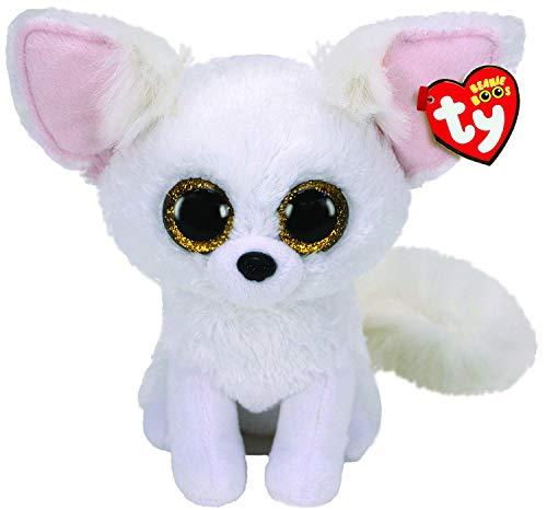 TY UK Ltd- Phoenix Fox-Boo Med Peluche, Multicolor, 24 cm (36481)