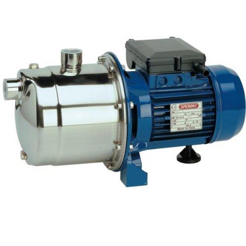 Speroni - zelfaanzuigende elektrische pome, Cam 198 roestvrij staal, pomp 1,1 kW, eenfase, 230 V, autoclav