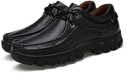 LOVDRAM Toile Couche Hommes Grande Taille Décontracté Chaussures Hommes Papa Chaussures Fond Doux Hommes Randonnée en Plein Air Chaussures De Randonnée 38-48
