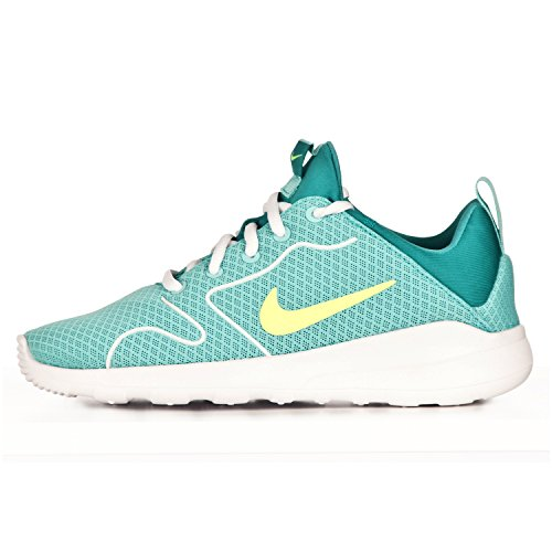 Nike Damen Kaishi 2.0 (GS) Laufschuhe, Türkis/Grün/Weiß (Turquesa Hyper Turq Volt Clear Jade White), 36.5 EU