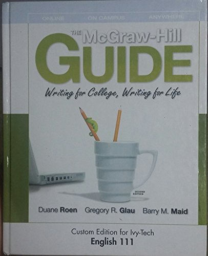 MCGRAW-HILL GUIDE:WRITING ETC.