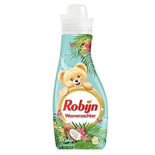 4er Pack - Robijn Weichspüler - Kokos Sensation - 30 Wäschen - 750ml