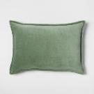 Gray Stonewashed Lumbar Pillow - Threshold™ : Target