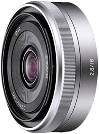 Sony SEL16F28 16mm f/2.8 Wide-Angle Lens for NEX Series Cameras