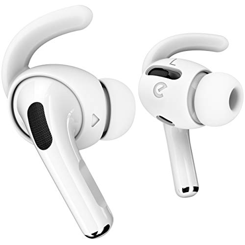 EarBuddyz 3 Pairs AirPods Pro Ear Hooks Accessories [Storage Pouch Included] Secure Anti Slip Covers...