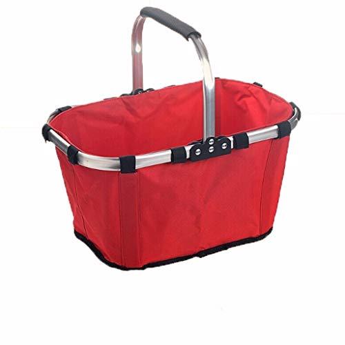 Cestas de la compra Plegable cesta mercado al aire libre cesta inferior...