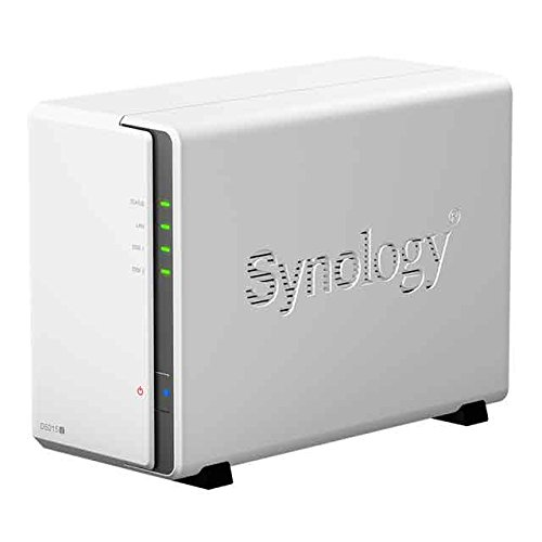 Synology DS215j 2X SATA 800MHz DualCore Bundle mit 1x 1000GB
