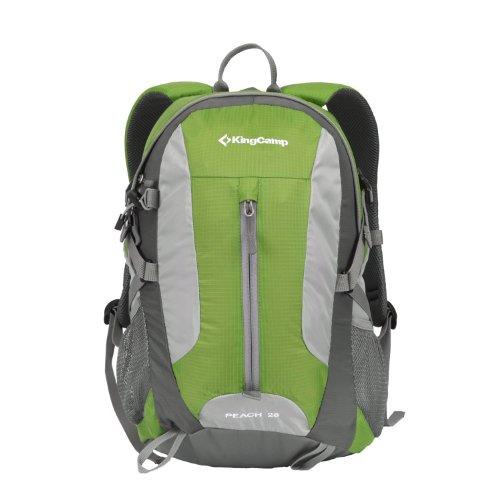 KingCamp - Borsone da Escursionismo Litri, Unisex, Taglia Unica, Colore: Pesca 28 Verde