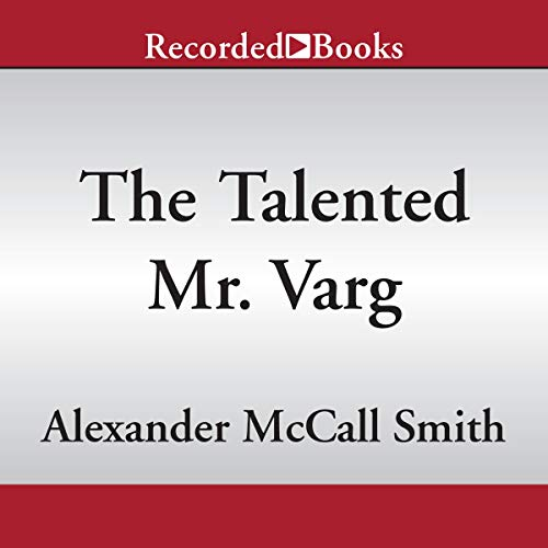 The Talented Mr. Varg audiobook cover art
