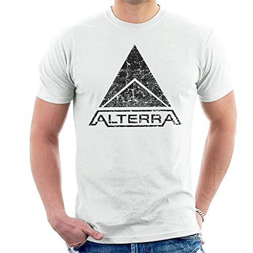 Alterra Logo Subnautica Black Men's T-Shirt