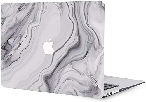 MacBook Air 11 inch Case Release 2010 2011 2012 2013 2014 2015 Release A1370 A1465, Plastic Hard Shell Cover Case Compatible with MacBook Air 11' - Grey Mist
