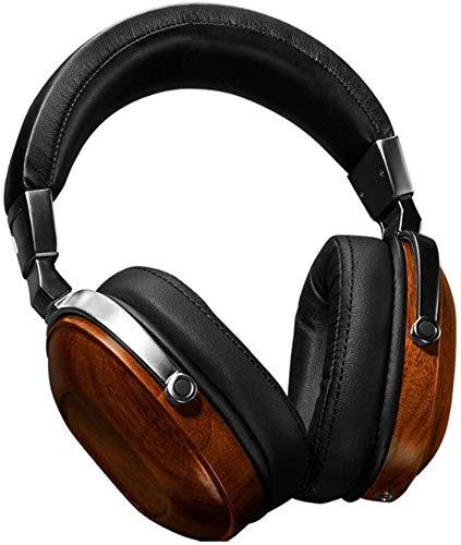Casque, écouteurs de Musique métal Pur, Caisson de Basses 74 mm Diamètre Haut-parleurs Brown