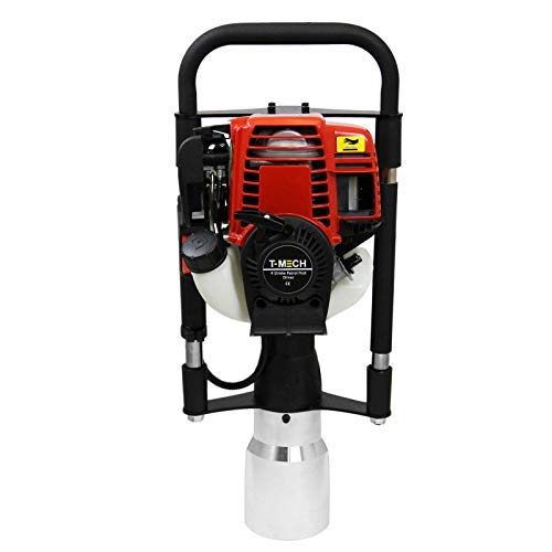 T-Mech 4 Takt Benzin Motor Pfahlramme Pfostenramme Pfostentreiber Zaunbau 120mm Aufsatz