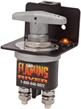 Flaming River FR1044LED Big Switch Battery Disconnect On/Off LED Indicator 250 A