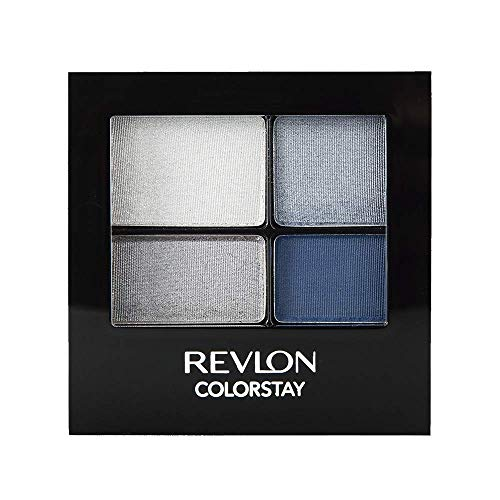 Revlon ColorStay 16 Hour Eye Shadow Quad, Passionate,0.16 Oz
