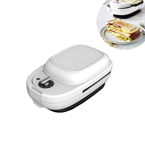 JIASHU Sandwichera, con 5 Tipos de bandejas para Hornear, Hace sándwiches en Minutos con prácticamente, para el Desayuno, bocadillos saludables o postres