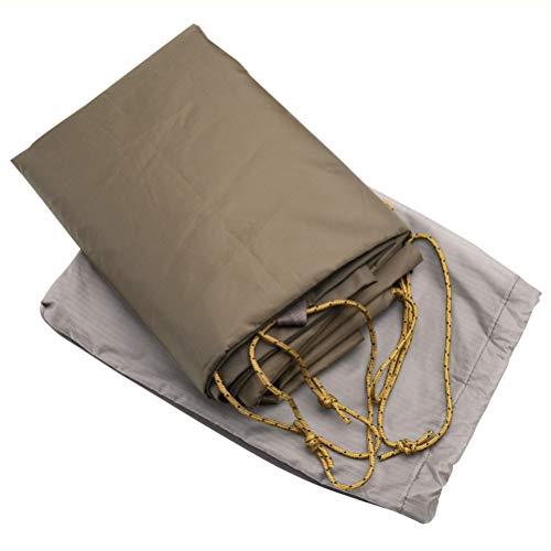 MSR Papa Hubba NX 4 Person Backpacking Tent Footprint - Grey