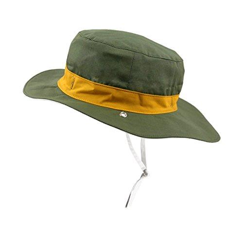 Cappello Anti-UV per neonato e bambino - Panama Kaki - 6-12 mesi