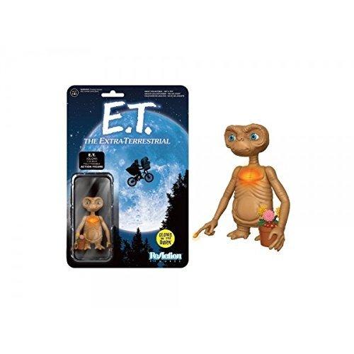 Funko - Figurine E.T. - E.T. Glow In The Dark Chest And Finger Exclu Reaction 5cm - 0889698119849