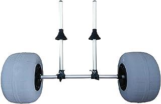 Kajakvagn, Bärbar Vagnhållare för Kanot Båt Med Luftfria Däck Hjul