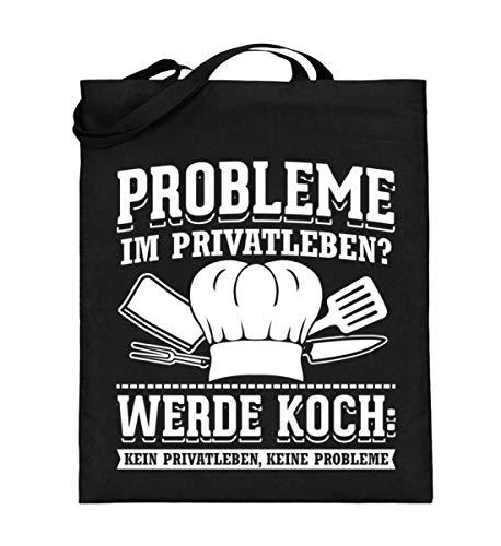 Chorchester Köche Haben Kein Privatleben Koch - Jutebeutel (mit langen Henkeln)