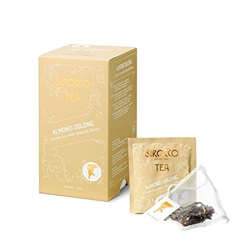 Sirocco Tee Almond Bio-Oolong-Tee mit Mandelaroma Rarität! Marzipan-Duft! Adventstee!
