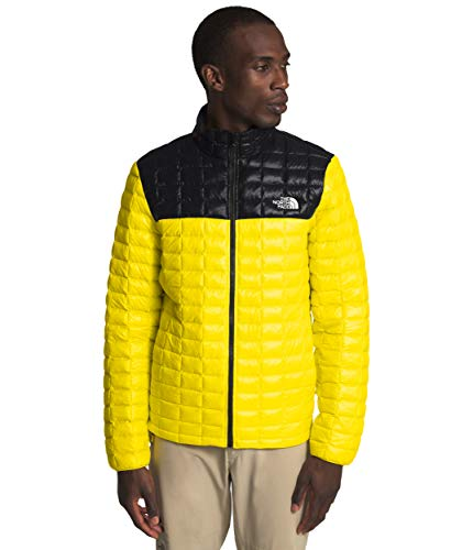 The North Face Men's Thermoball Eco Jacket, TNF Lemon/TNF Black, L