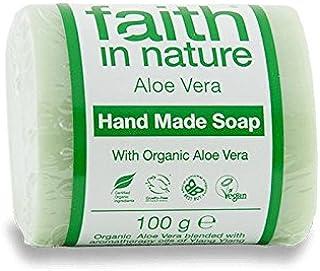 イランイランソープ100グラムと自然のアロエベラの信仰 - Faith in Nature Aloe Vera with Ylang Ylang Soap 100g (Faith in Nature) [並行輸入品]
