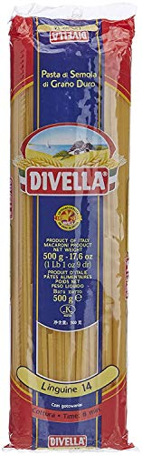 10x Pasta Divella 100% Italienisch N°14 Linguine 500g