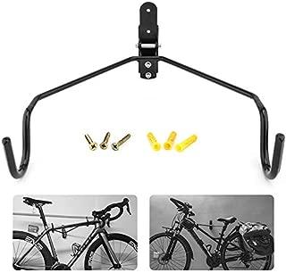 Yunceバイクハンガー 自転車壁掛けフック 自転車ハンガー バイクスタンド 自転車ディスプレイ 壁 ディスプレイ ラック 自転車ホルダー 角度 調整 収納可能