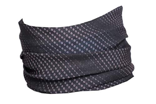 Hilltop Multifunktionstuch I Hals-Tuch Herren I Sporttuch I Schlauchtuch Damen in modernen aktuellen Designs, Farbe/Design:grau