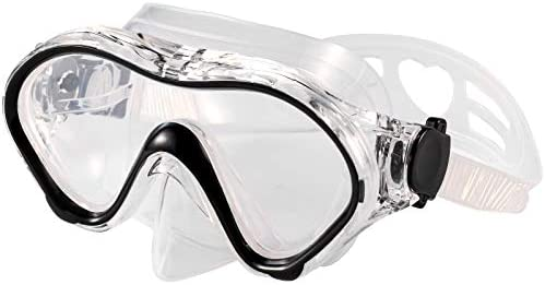 Fpxnb Kids Swim Mask Swimming Goggles with Nose Cover Snorkel Gear Scuba Diving Snorkeling Anti product image