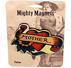 Heart with Mother Tattoo King Mighty Magnets