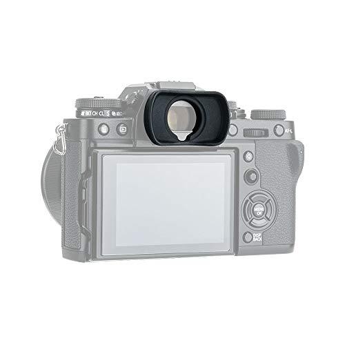 JJC Eyepiece Eyecup Eye Cup Viewfinder for Fuji Fujifilm X-T3 X-T4 X-T2 X-T1 X-H1 GFX 100 GFX 100S GFX 50S Camera, Replaces Fuji Fujifilm EC-XT L Eyepiece