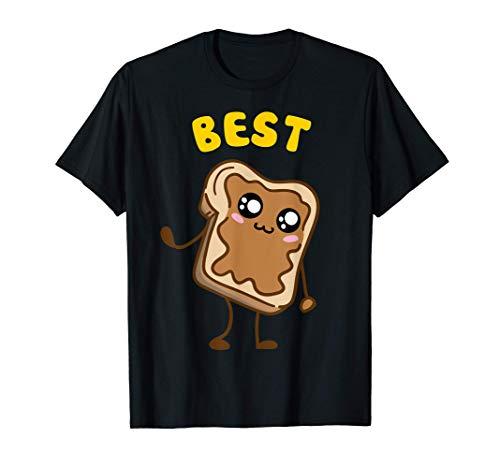 Kawaii Peanut Butter - Jelly - 1 2 BFF Best Friends Matching T-Shirt