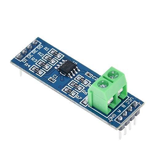 5 stücke MAX485-Modul RS-485 TTL bis RS485 MAX485CSA-Konverter-Modul für Arduino-Mikrocontroller MCU-Entwicklungszubehör ( Size : A )