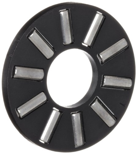 INA AXK0515TN Thrust Needle Bearing, Axial Cage and Roller, Polyamide Nylon Cage, Open End, Metric, 5mm ID, 15mm OD, 2mm Width, 2.1lbf Static Load Capacity, 17lbf Dynamic Load Capacity