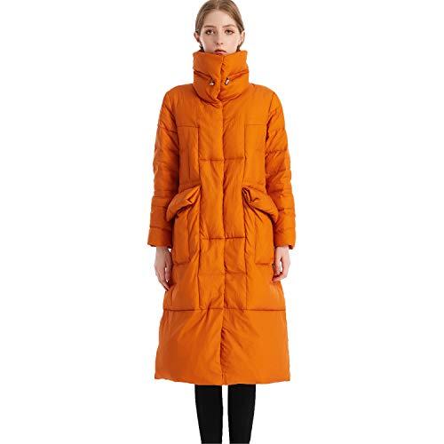 Dames 90% Down Coat Ultra Winddicht Warm Lange Lengte Puffer Jas Gewatteerde Parka Puffer Winterjas Bovenkleding.