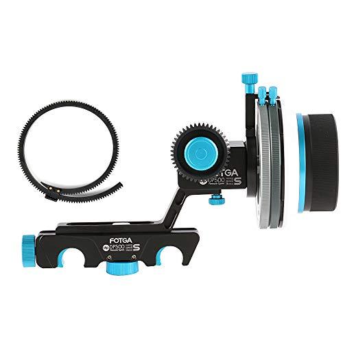 Fotga Upgrade DP500IIS Quick Rlease Dampen Follow Focus A/B Hard Stop for 15mm Rail DSLR Rig 5DII III IV 7D D90 D5 D500 D850 DSLR Camera, A7 A7R A7S II III A9, GH4/5/5S
