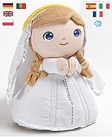 Peluche Vierge Marie 22 cm. Prière 7 langues (Ref. 2002)