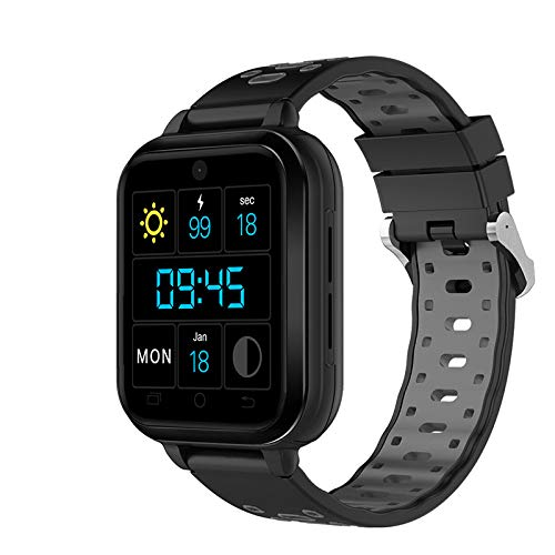 Finow Q1 Pro Android Smart Watch - 4G, 1.54 Inch Touch Screen, Pedometer, Heartrate Sensor, Android 6.0, 2MP Camera (Grey)